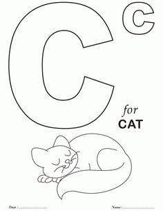236x305 Alphabet Coloring Pages My Plans Are To Have Them Color One As