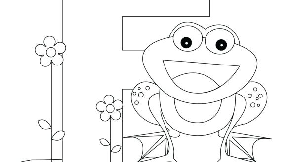 585x329 Abc Coloring Worksheets Letter Coloring Pages Preschool