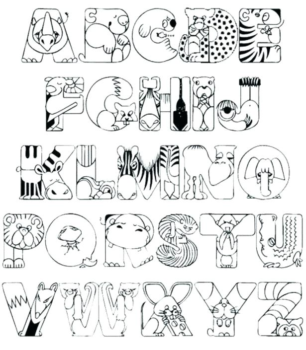 615x705 Letter Coloring Pages For Toddlers Coloring Pages Alphabet