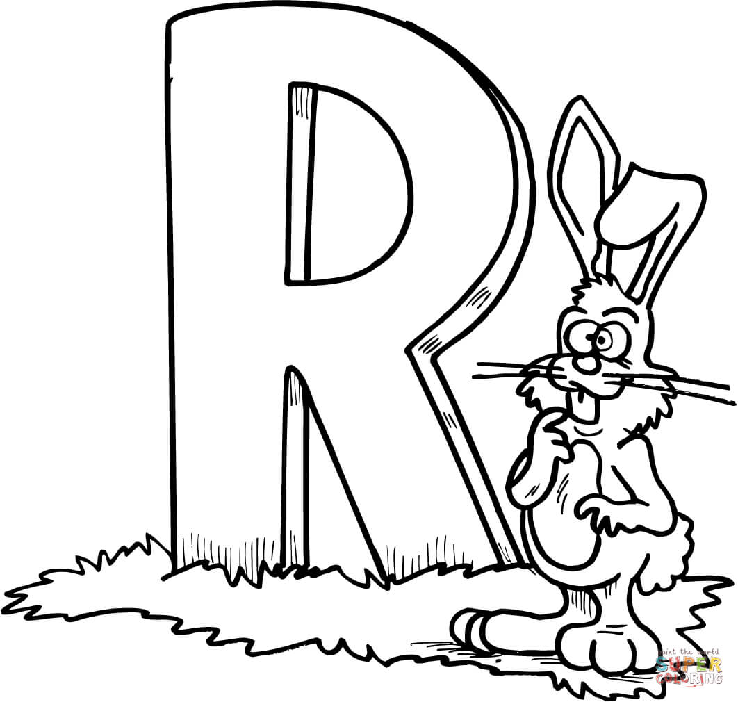 1062x1010 Letter R Is For Rooster Preschool Coloring Page Educations Pages