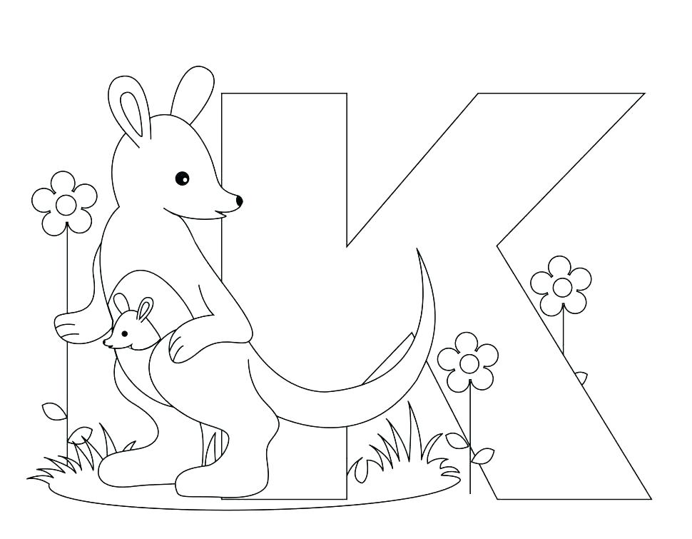 970x755 Abc Coloring Pages For Preschoolers