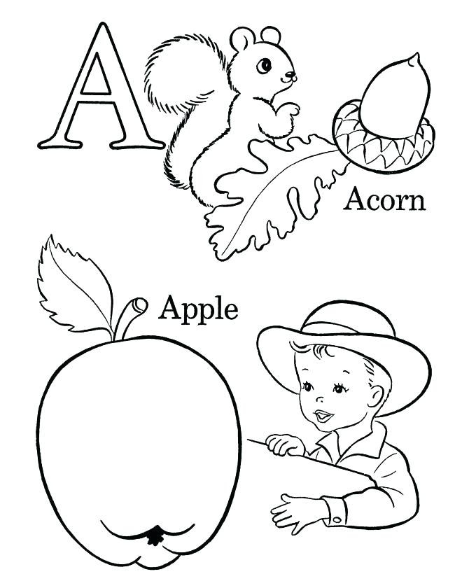 670x820 Abc Coloring Pages For Kindergarten Coloring Pages These Free