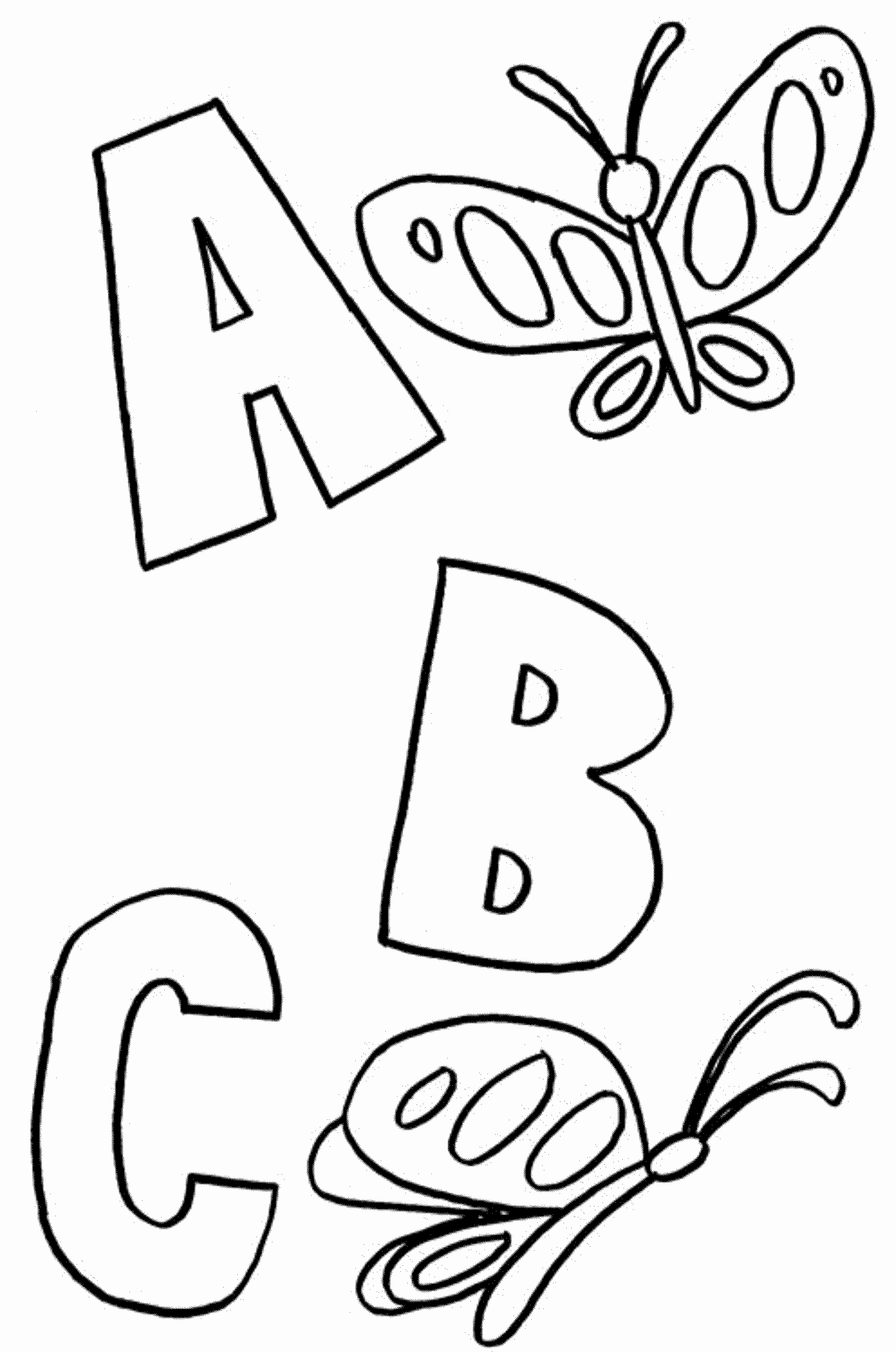 2000x3016 Alphabet Coloring Pages Preschool New Abc Coloring Pages