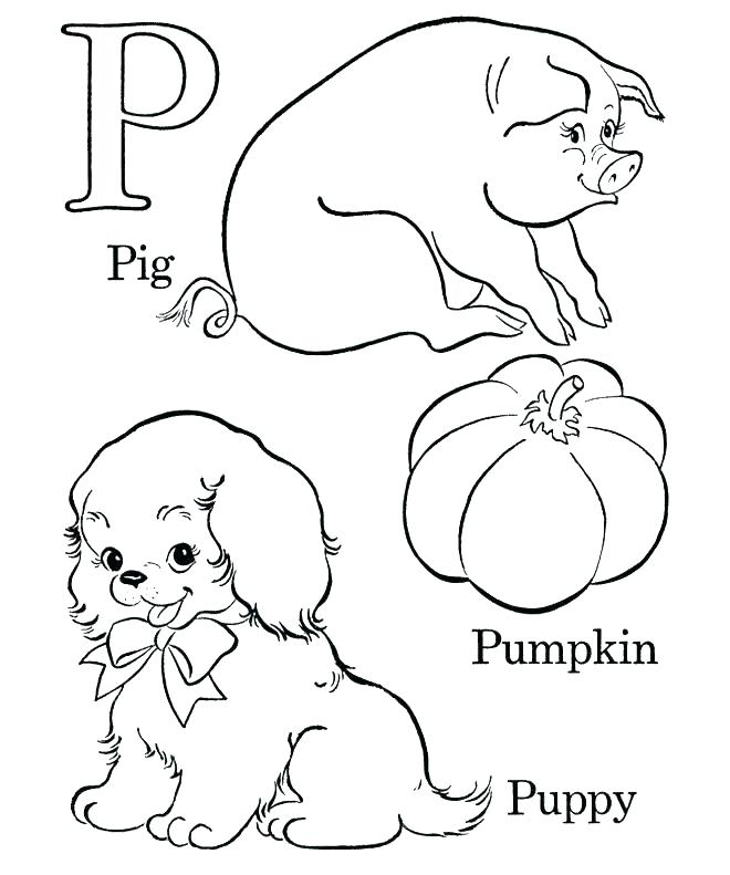 660x791 Coloring Pages Abc Coloring Pages For Preschoolers Animals