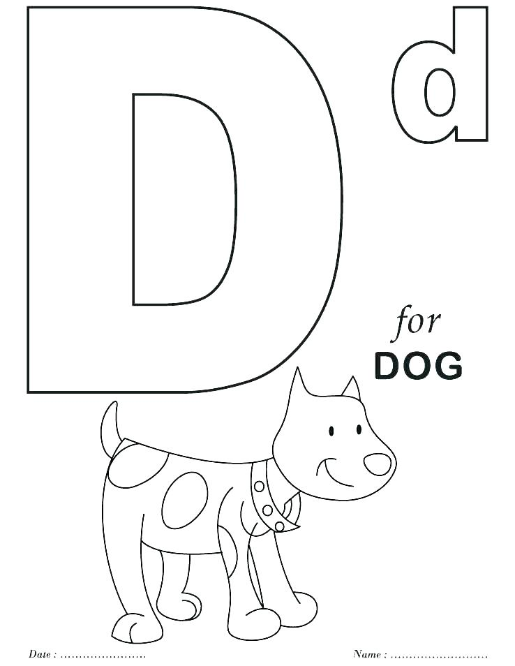 738x954 Free Alphabet Coloring Pages Alphabet Coloring Pages Preschool