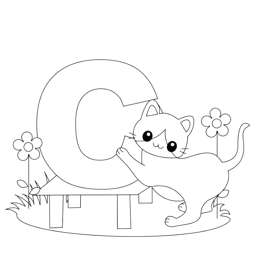 878x878 Letter I Coloring Pages For Preschoolers