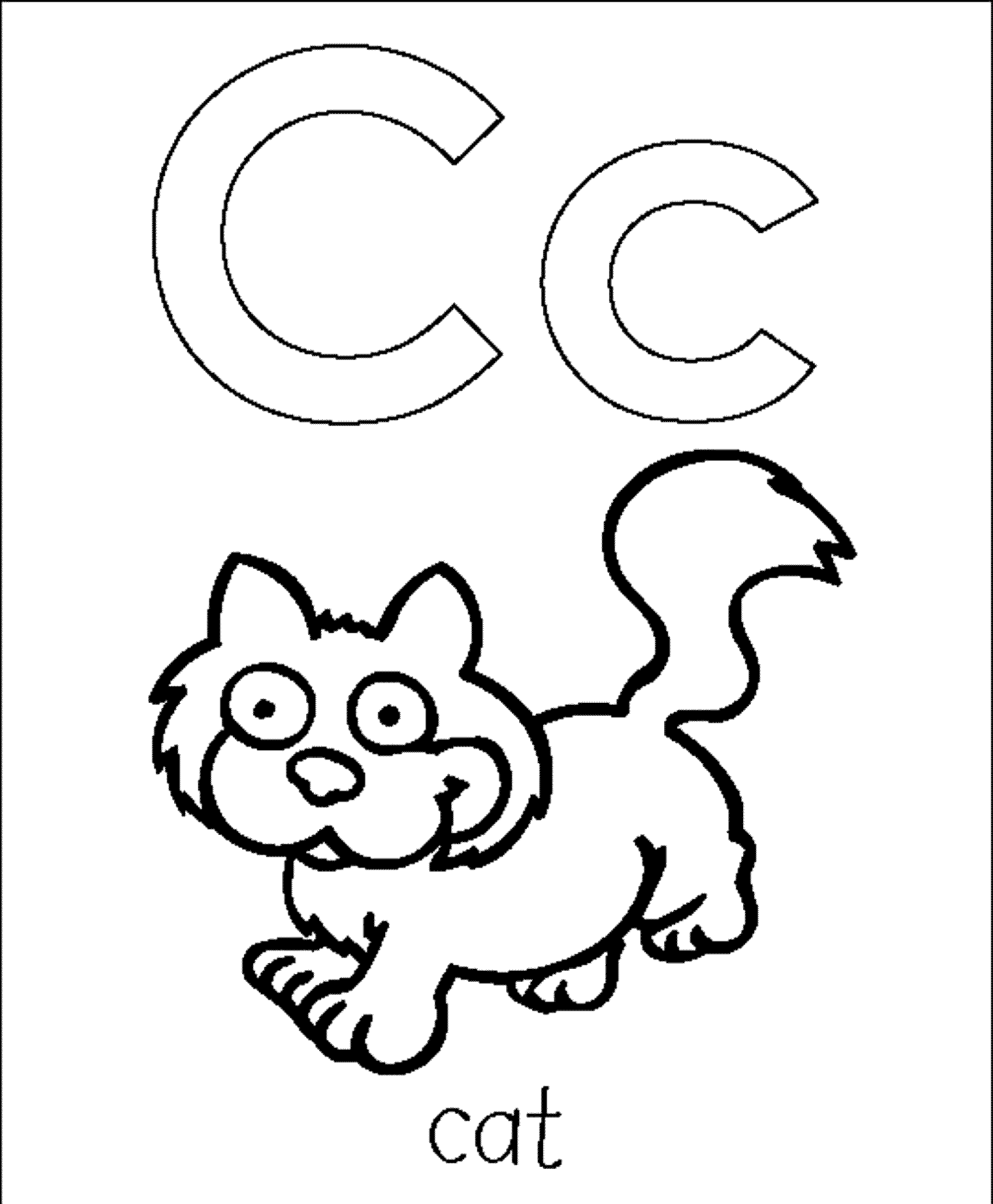 2000x2426 Abc Coloring Pages For Preschoolers