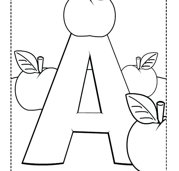 628x600 Letter A Coloring Pages Printable Letter B Coloring Pages