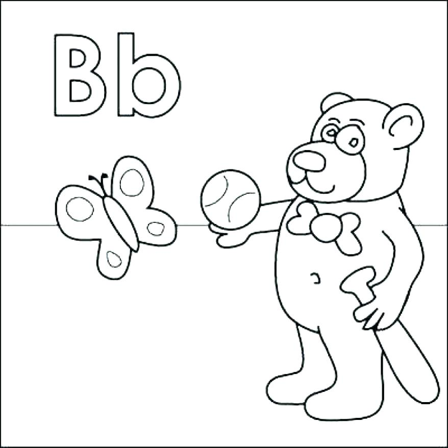 878x878 Printable Abc Coloring Pages Letter A Coloring Page Printable