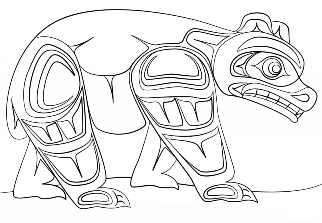 1024x711 Aboriginal Art Coloring Pages