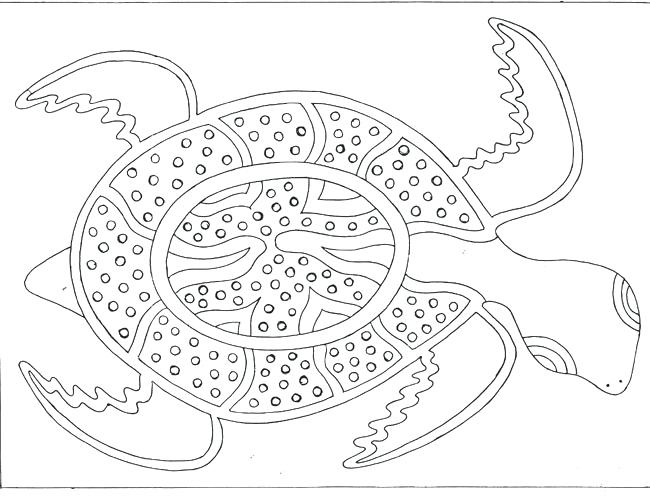 650x501 Free Printable Aboriginal Colouring Pages Sea Pixels Rainbow