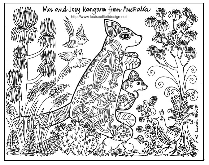 675x532 Free Printable Aboriginal Colouring Pages Aboriginal Coloring