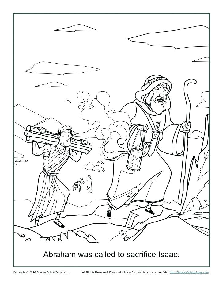 Abraham And Sarah Coloring Pages At Getdrawings Com Free For