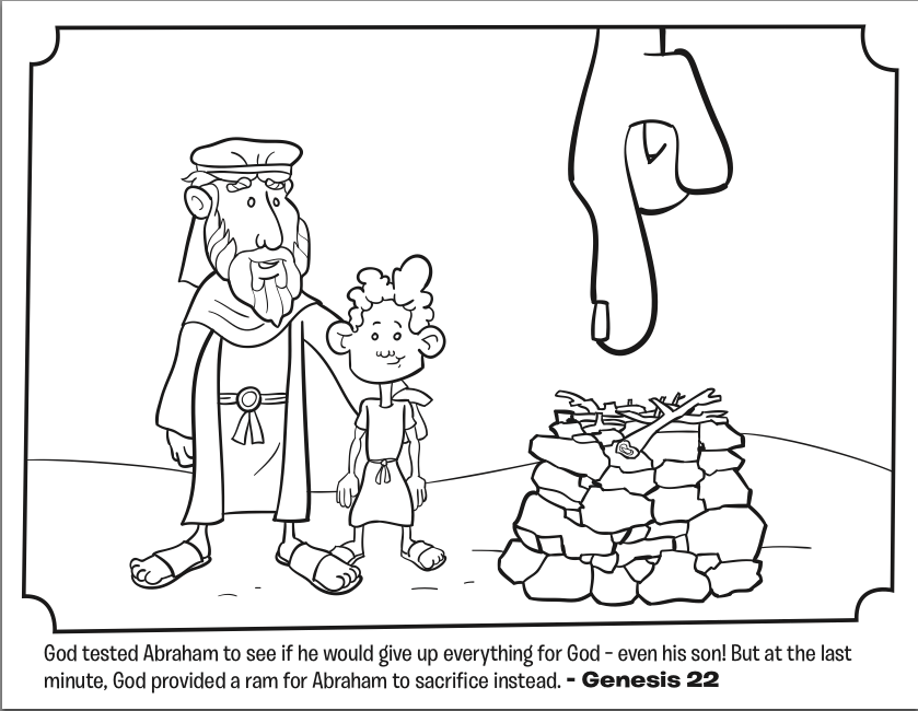 Abraham And Sarah Coloring Pages Free At Getdrawingscom Free For