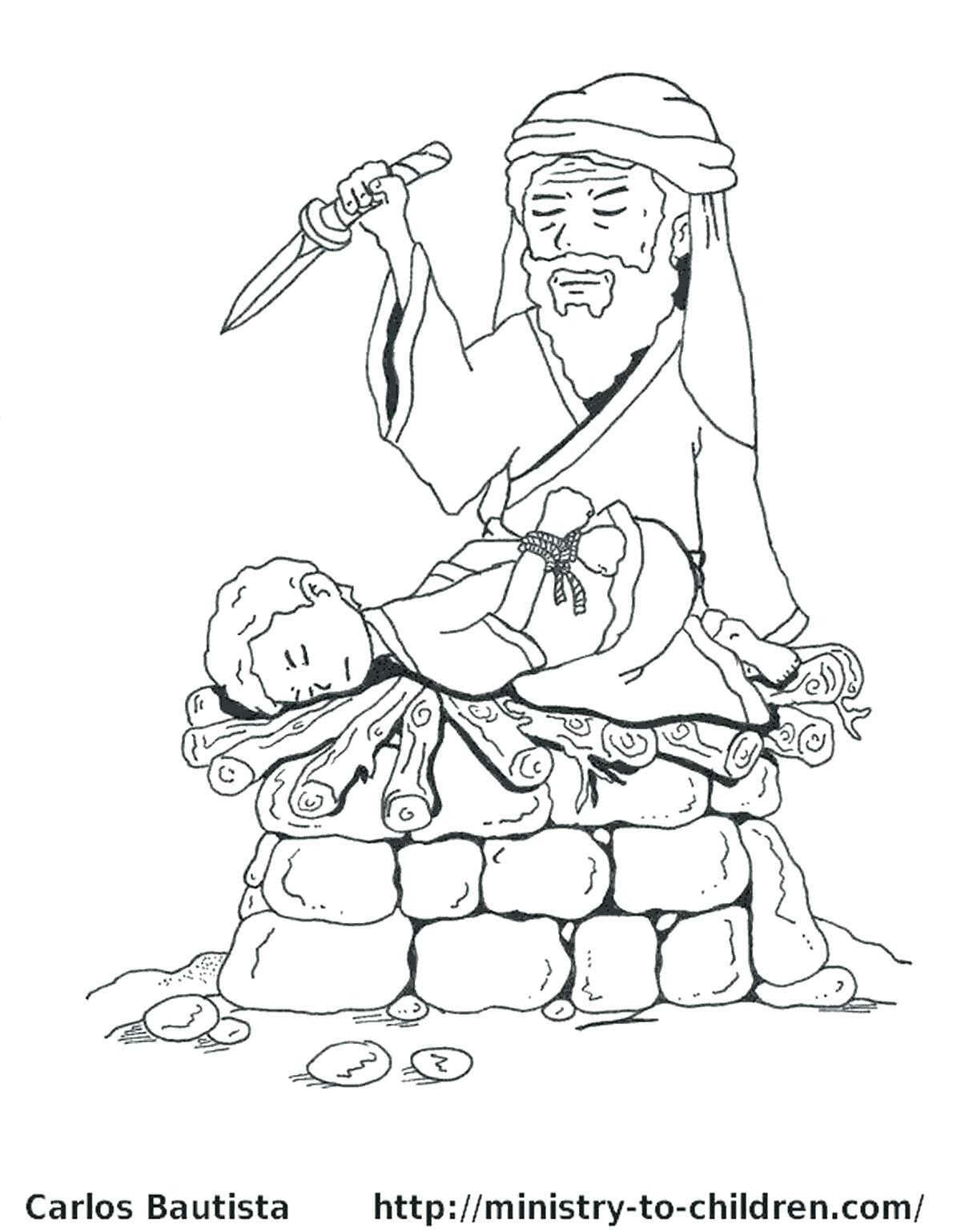 1200x1539 Abraham Bible Coloring Pages School Inside With And Lot Creative