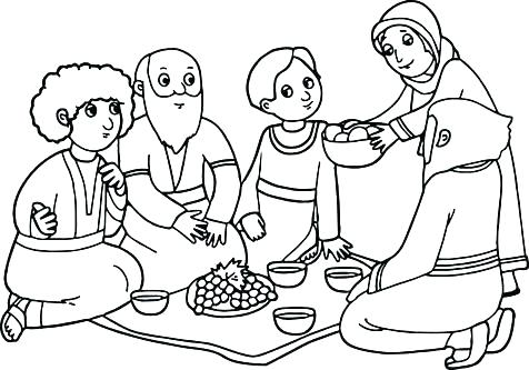 476x333 Abraham Bible Story Coloring Pages X Father Sheets And Page Trend