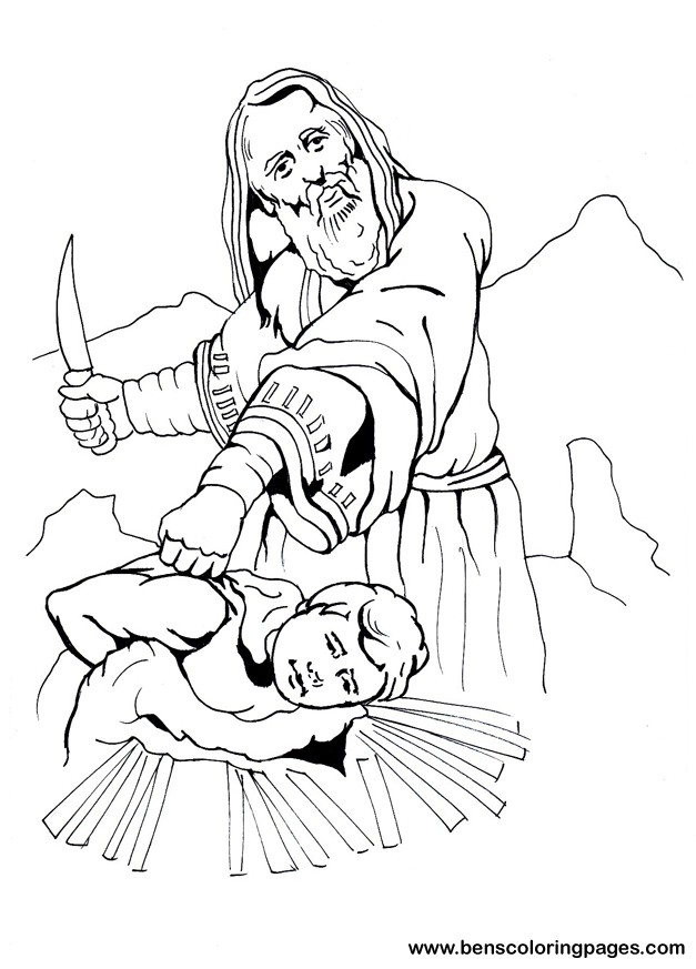 627x873 Abraham Coloring Pages Children Bible Object Lessons