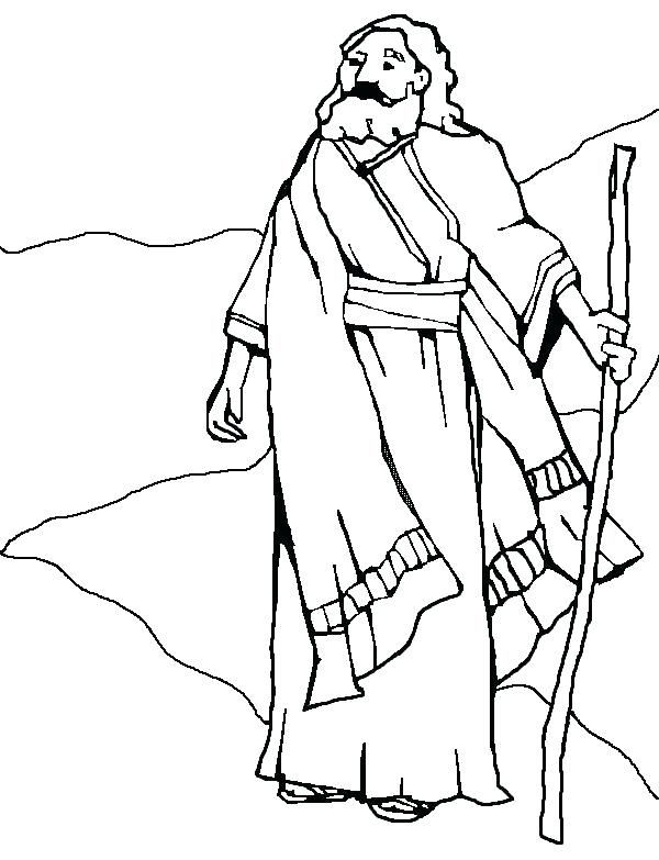 600x783 Wonderful Abraham And Sarah Coloring Page And Coloring Pages