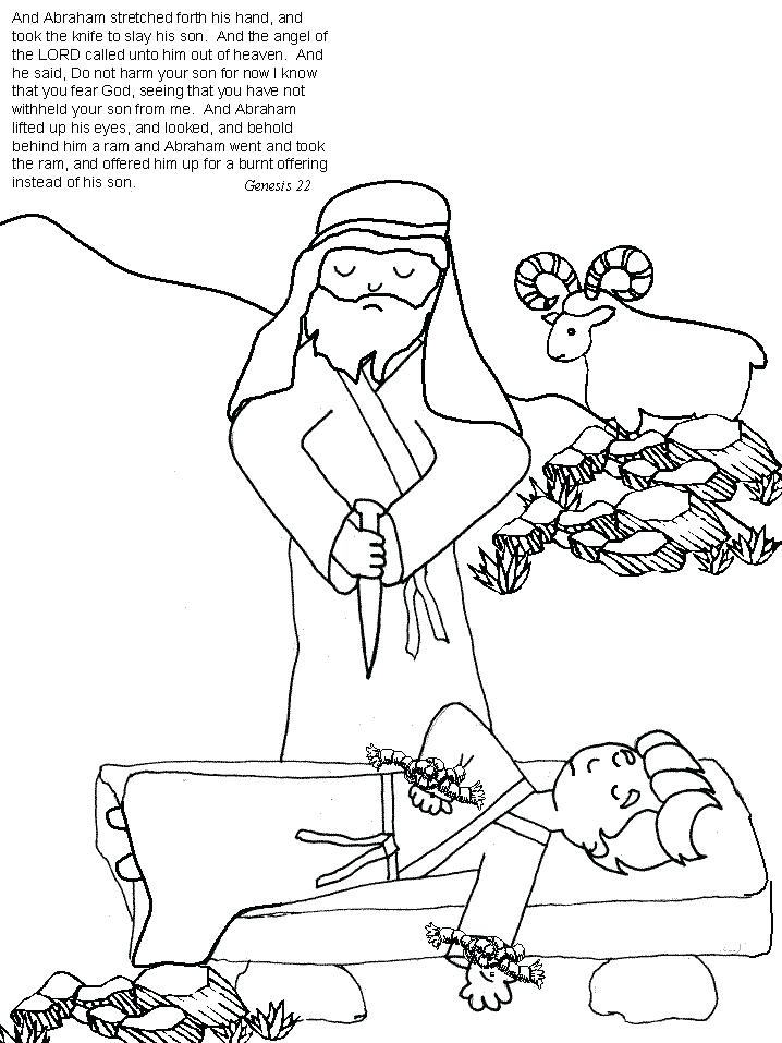 718x957 Son Coloring Page Son Coloring Pages Com Abraham Coloring Pages