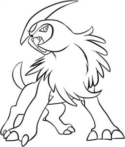 257x302 How To Draw Absol