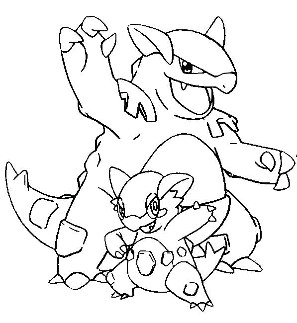 597x650 Pokemon Coloring Pages Absol Coloring Pages Mega Coloring Page