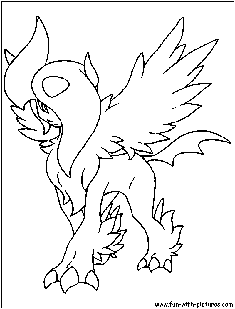 800x1050 Stunning Design Pokemon Coloring Pages Absol