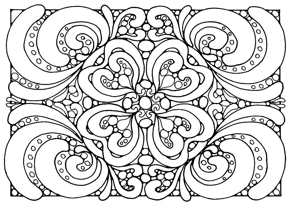 936x663 Abstract Flower Coloring Pages Cute Coloring Flower Printable