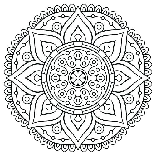 500x500 Coloring Pages For Adults Abstract Art Coloring Pages Printable