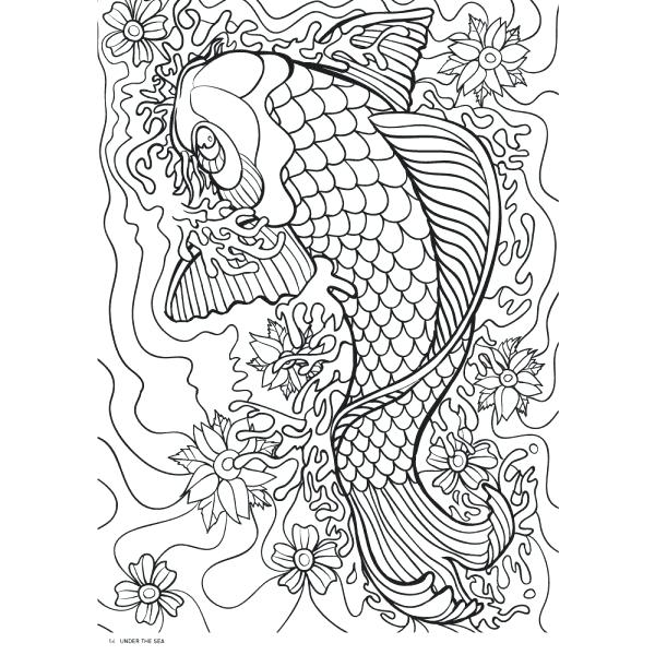 This is a picture of Printable Coloring Pages for Adults Abstract in free printable