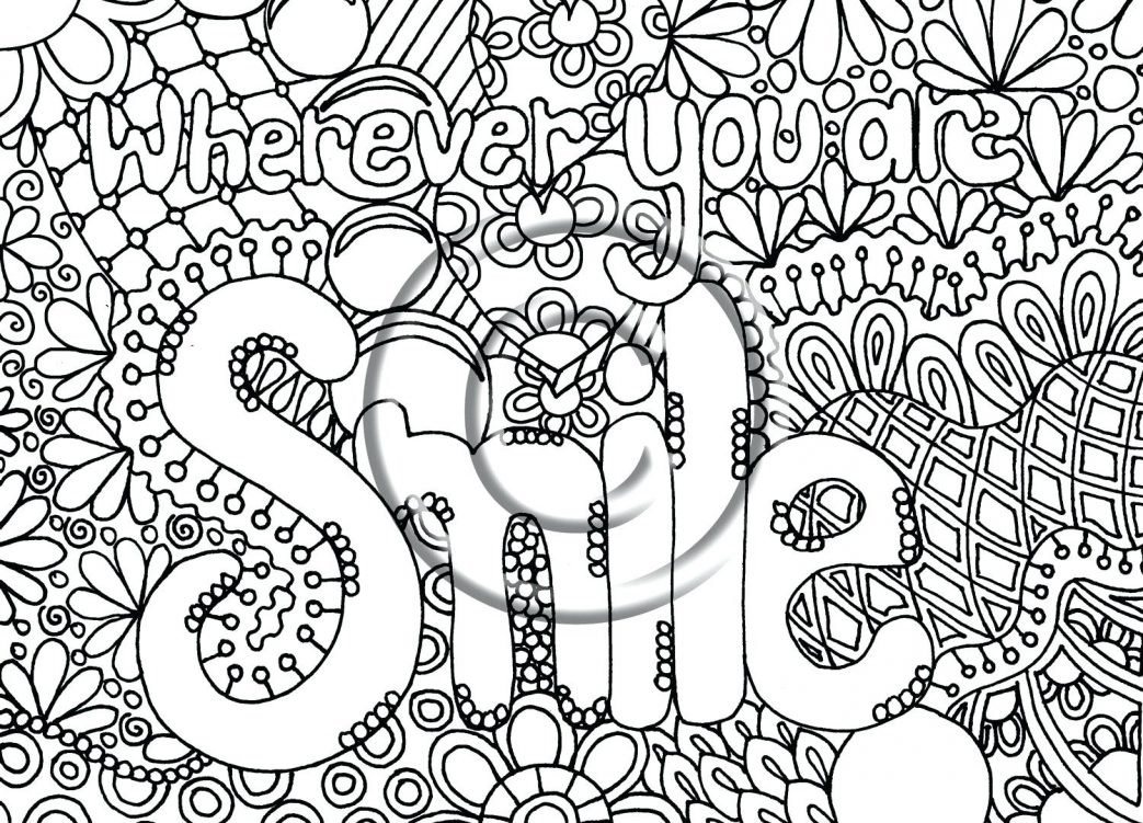1043x751 Printable Abstract Coloring Pages Free Halloween Mandala For Adult