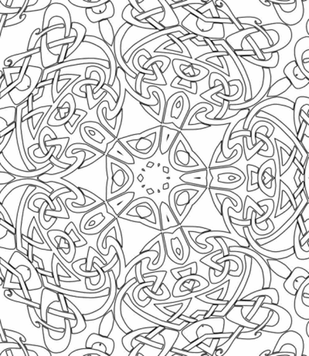 1000x1155 Printable Mandala Abstract Colouring Pages For Meditation