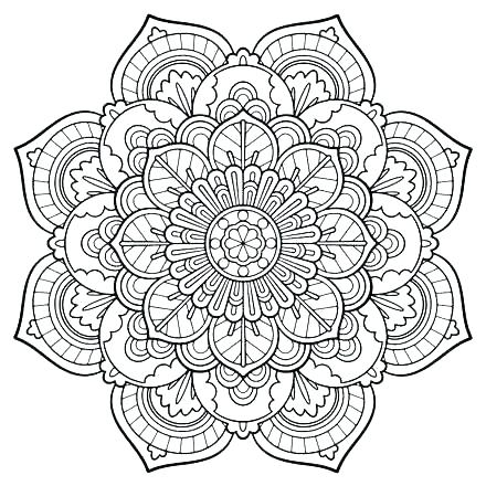 440x440 Abstract Coloring Pages To Print Abstract Printable Coloring Pages