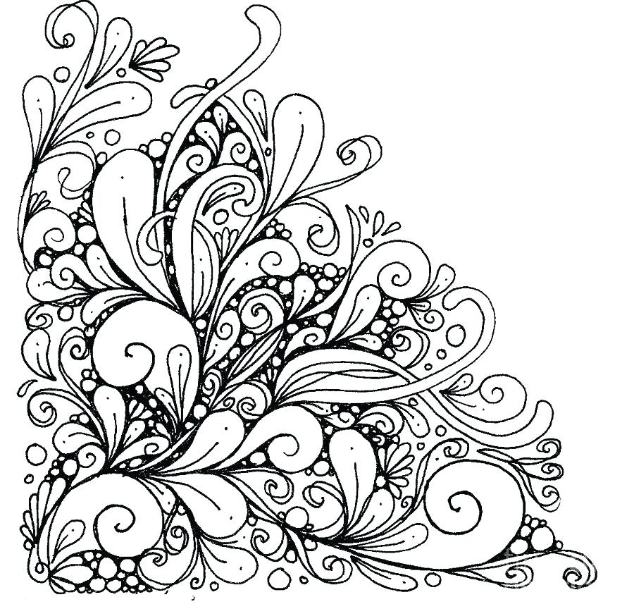900x864 Free Printable Abstract Coloring Pages Adults Abstract Coloring