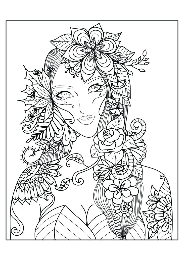 736x1041 Abstract Coloring Pages For Adults And Artists Coloring Page