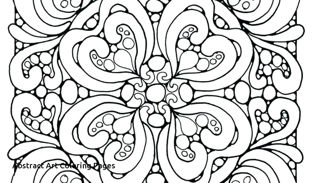 Abstract Design Coloring Pages