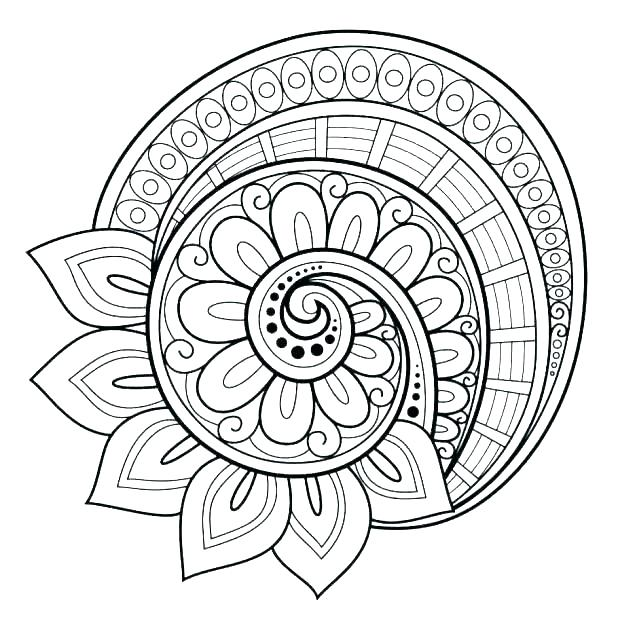 618x632 Abstract Coloring Pages Abstract Coloring Page Abstract Coloring