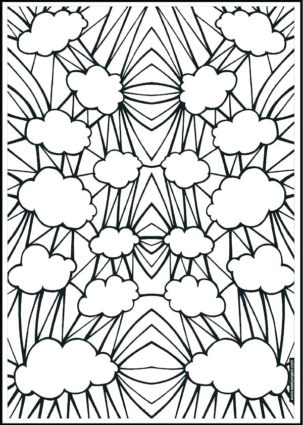 600x841 Abstract Design Coloring Pages Geometric Patterns Coloring Pages