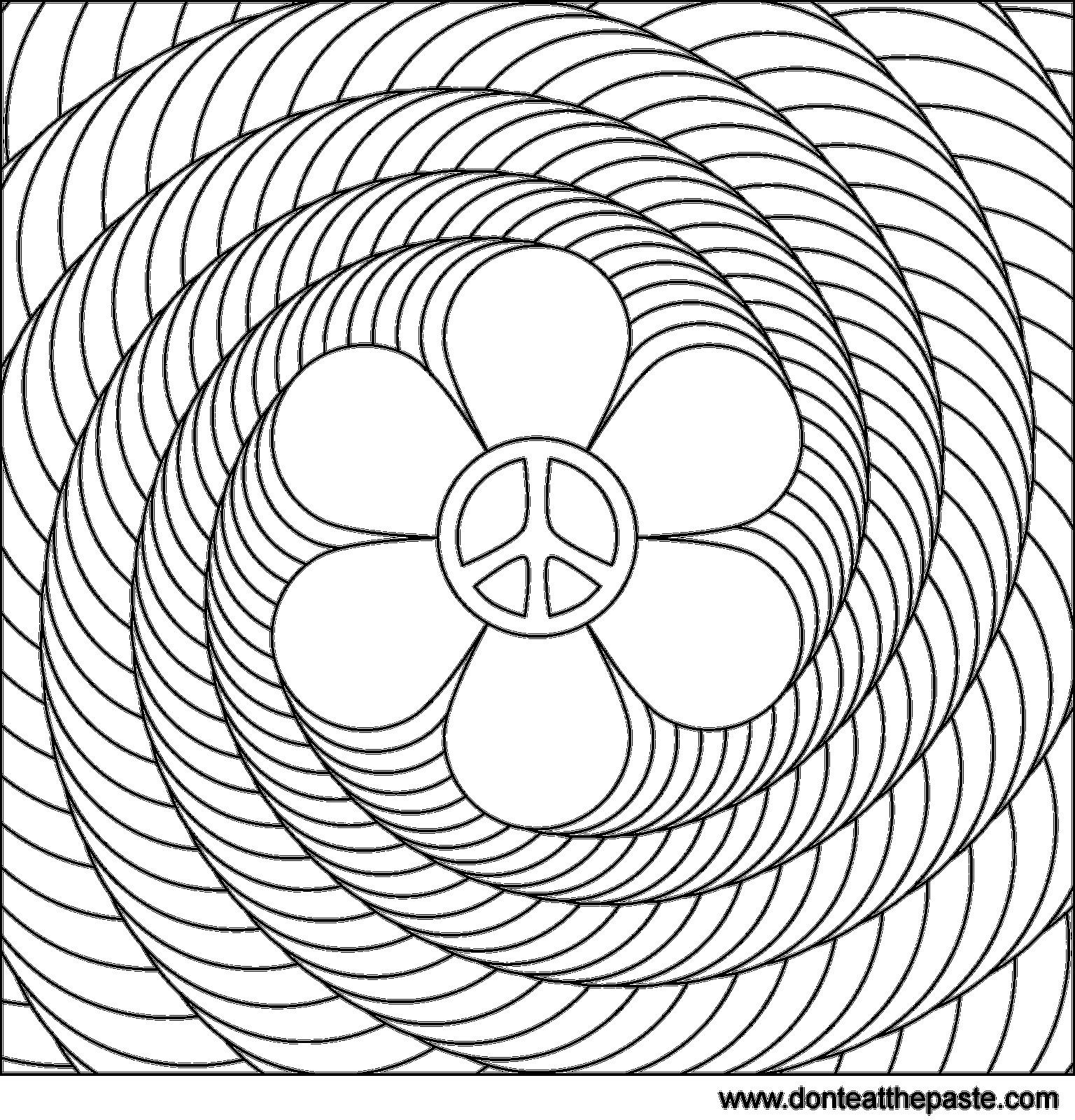 1536x1600 Abstract Pattern Coloring Pages