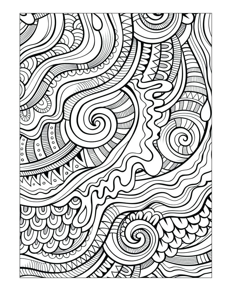 736x952 Coloring Pages Of Patterns Adult Coloring Pages Patterns For Men