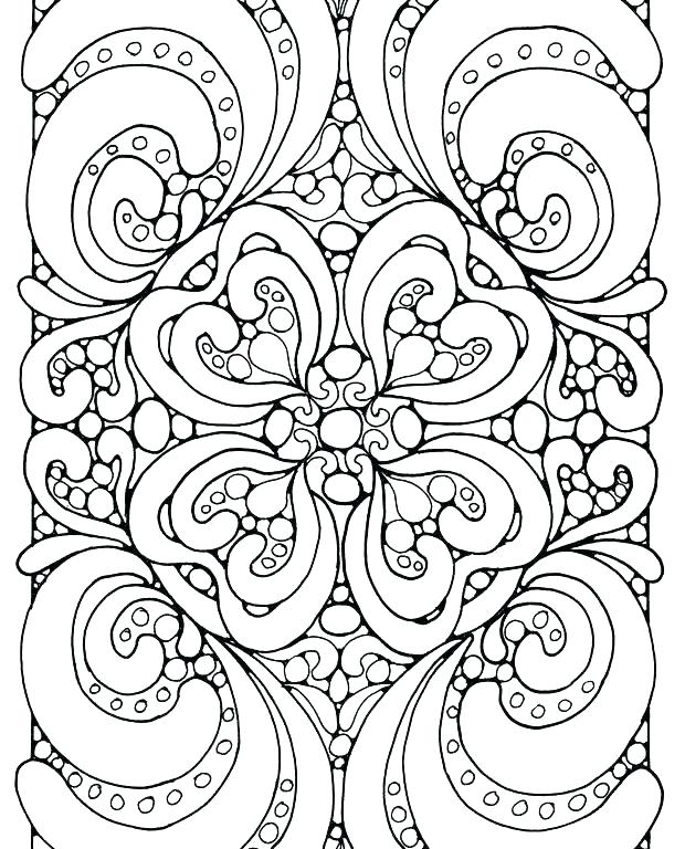 620x768 Abstract Coloring Page Abstract Design Coloring Pages Free