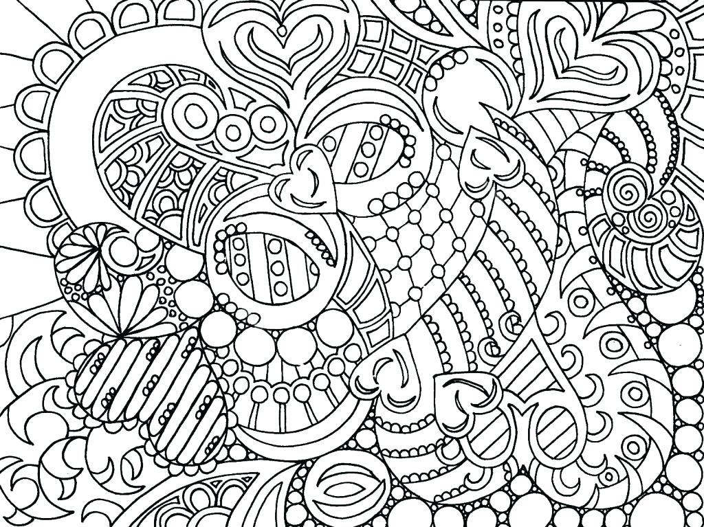 1024x767 Free Abstract Coloring Pages Abstract Coloring Pages Printable