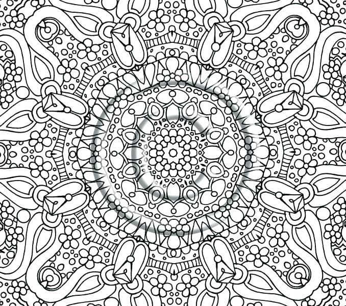 678x600 Abstract Coloring Pages Free Printable Abstract Coloring Pages