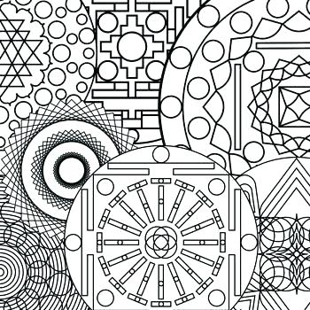 350x350 Abstract Design Coloring Pages Coloring Pages Abstract Designs