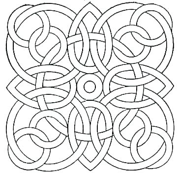 360x352 Abstract Design Coloring Pages Cool Design Coloring Pages Cool