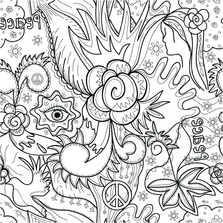 768x768 Abstract Design Coloring Pages Free Abstract Coloring Page