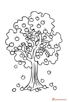236x347 Jungle Coloring Sheets Jungle Coloring Page Forest Trees Twisty