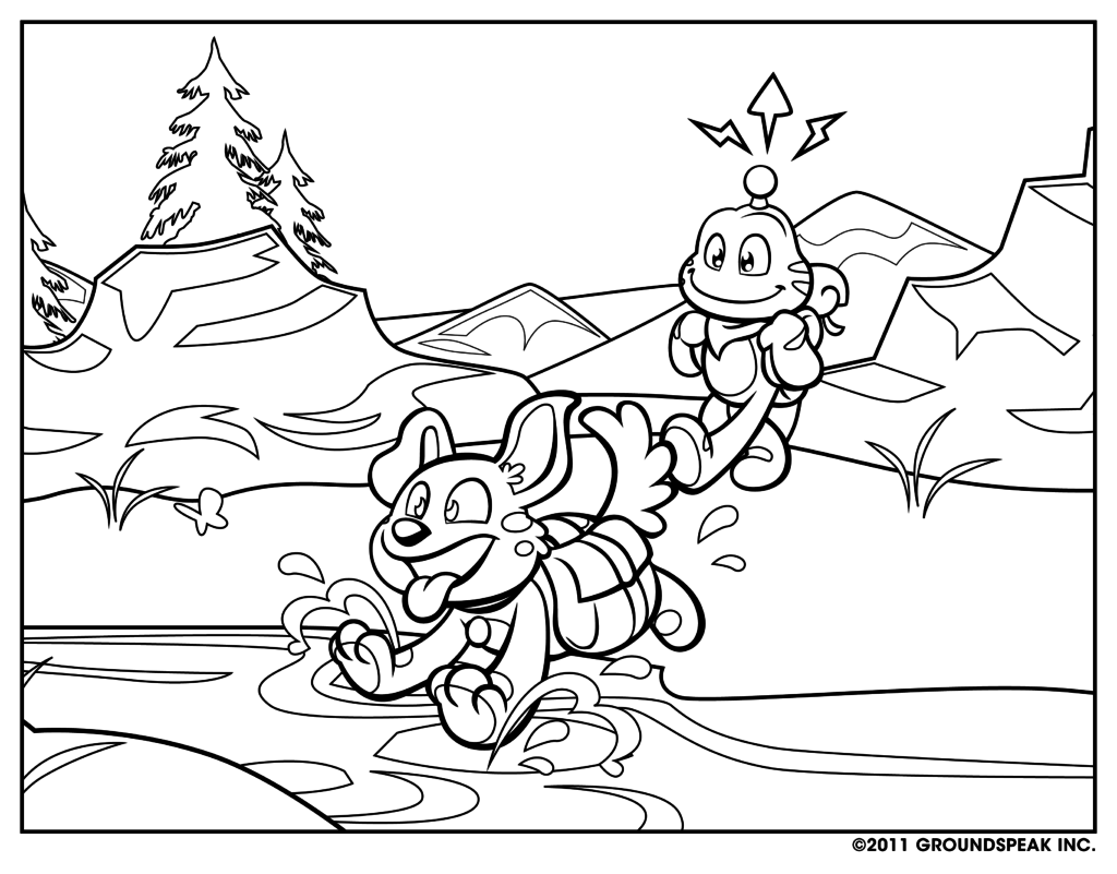 1024x801 Educational Coloring Pages Dr Odd Colouring Inside