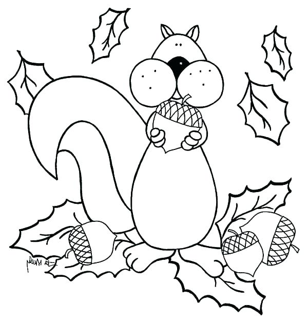600x627 Acorn Coloring Sheet Acorn Coloring Pages Hedgehog Coloring Sheet