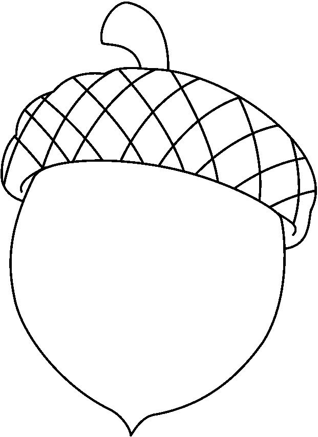 621x854 Acorns Coloring Pages Coloring Pages