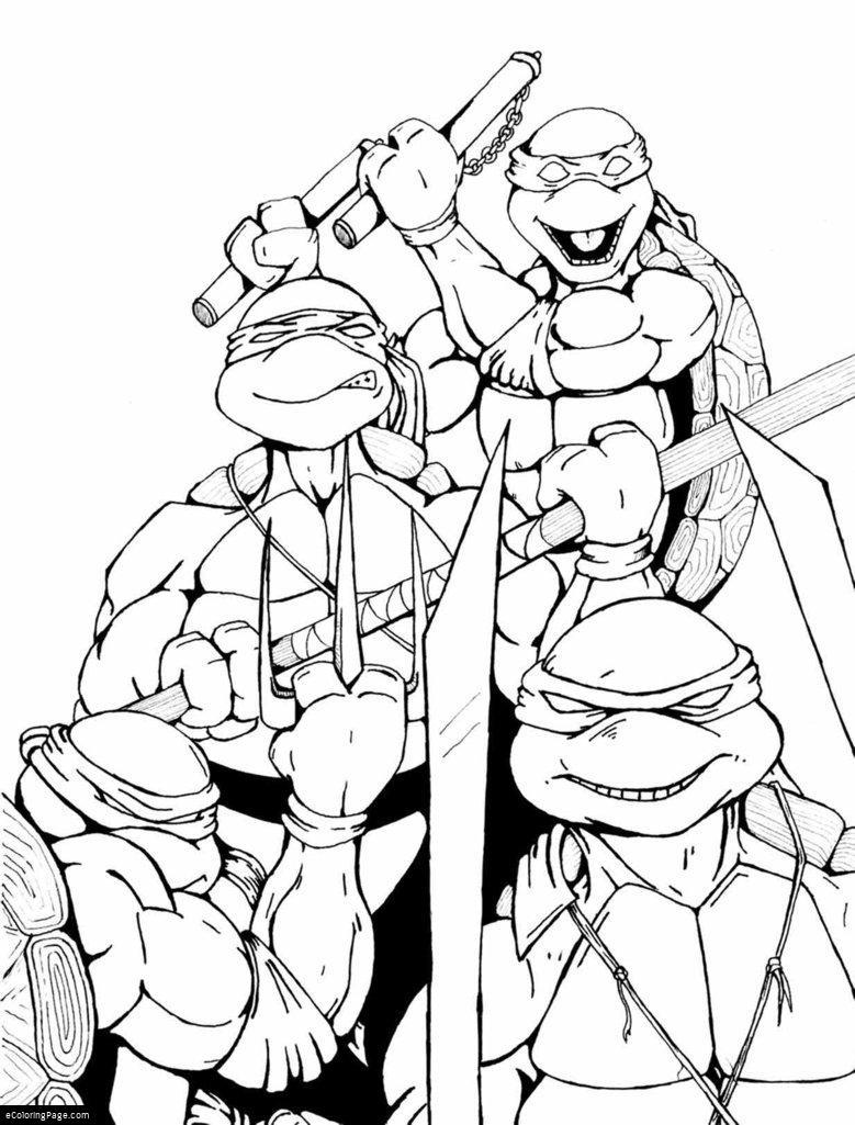 779x1025 Ninja Turtles Coloring Pages Unique Teenage Mutant Ninja Turtles